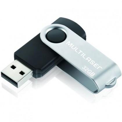 Pen Drive 32 Gb USB Twist 2.0 PD589 Multilaser