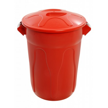 Cesto de Lixo Plástico 60 Lts c/Tampa CR60 JSN