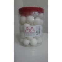Bola de Ping-Pong Branca 40mm c/48 Pangué
