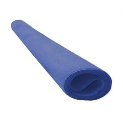 Papel Camurça 40x60cm Azul Royal c/25-VMP