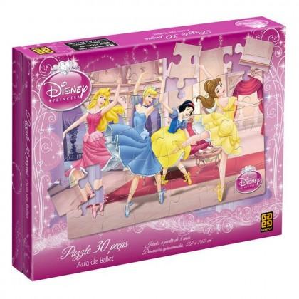 Quebra-Cabeça 30 Pçs Princesas-Aula de Ballet-Grow