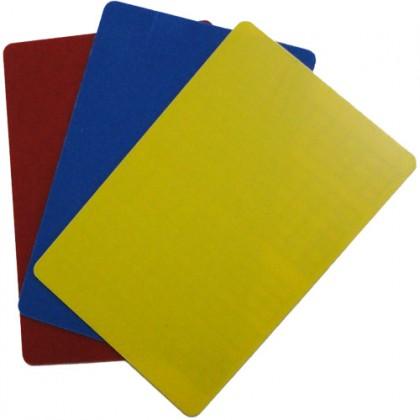 Cartão Plástico p/Juiz Salão c/3 Un Pangué