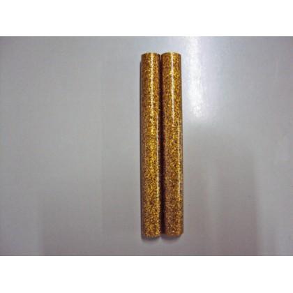 Bastão de Cola Silicone Grosso Ouro c/Gliter 250g - Cis