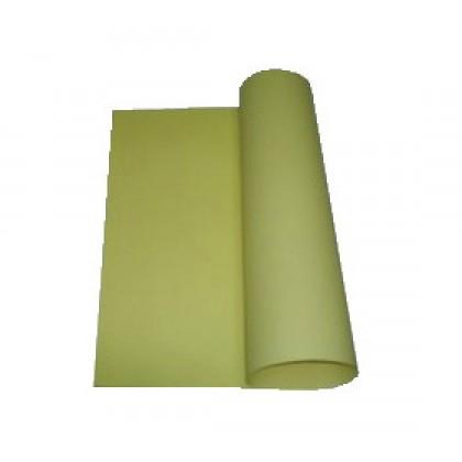 Papel Cartolina 120grs 50x66cm Amarela c/100-Aloform