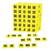 Alfabeto Silábico em EVA c/354 Pçs-BM