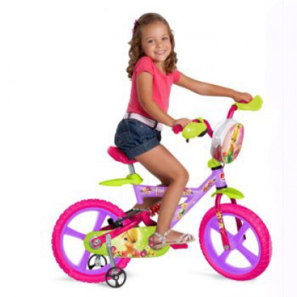 Bicicleta X-Bike 14 Tinker Bell Bandeirante