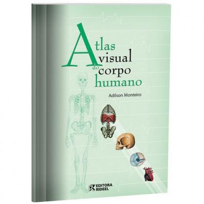 Atlas Visual do Corpo Humano c/32 Páginas Rideel