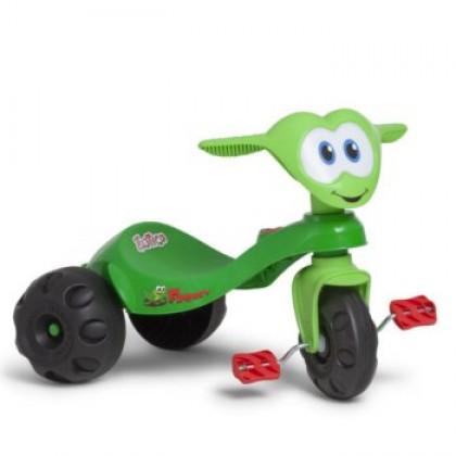 Triciclo Zootico Froggy - Bandeirante