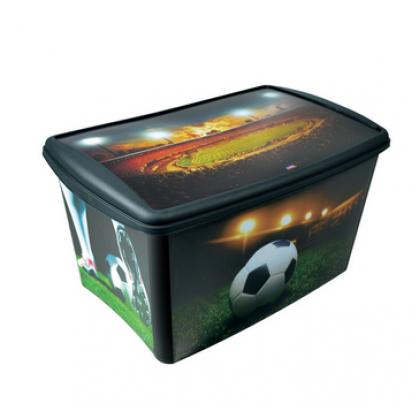 Caixa Organizadora Alta 66 Lts Futebol - Plasútil