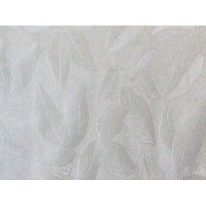 Atoalhado Flanelado 1,40x30mts Folhas Brancas-N.Classic