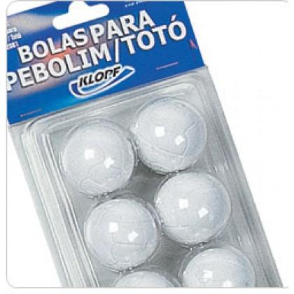 Bola de Pebolin c/6 - Klopf