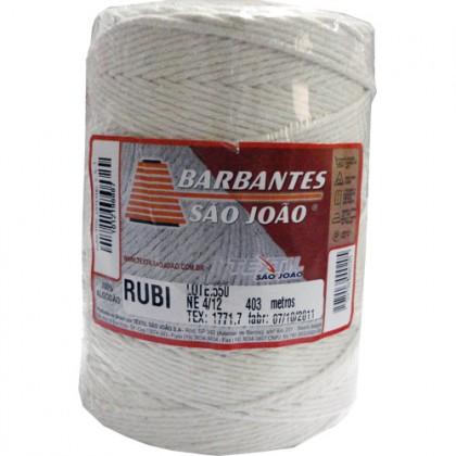 Barbante Rubi 4/12 Cru 403mts - São João