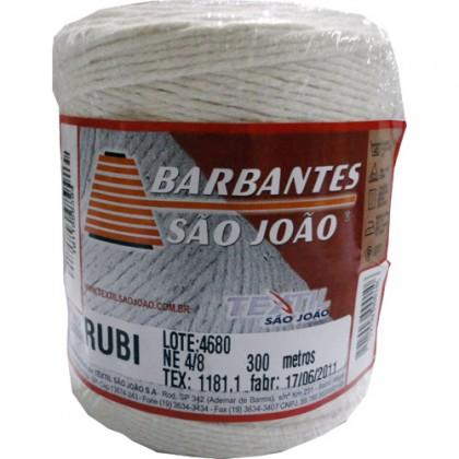 Barbante Rubi 4/8 Cru 300mts - São João