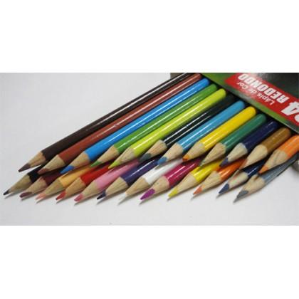 Lápis 24 cores Inteiro c/3 Et - Labra