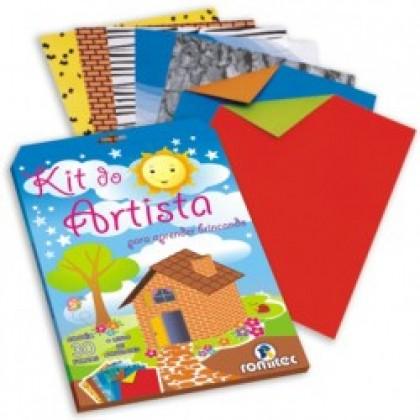 Kit do Artista c/30 Fls+Livro de Atividades - Romitec
