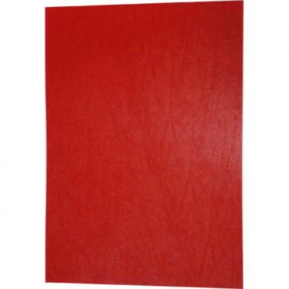 C/Capa p/Encadernação A4 c/100 Vermelha-ACP
