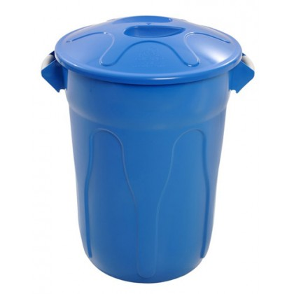 Cesto de Lixo Plástico 100 Lts c/Tampa R.CR100 JSN