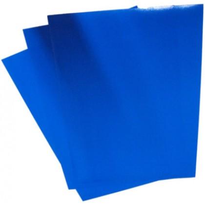 C/Capa p/Encadernação A4 c/100 Azul-ACP