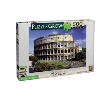 Quebra-Cabeça 500 Pçs Coliseu de Roma-Grow