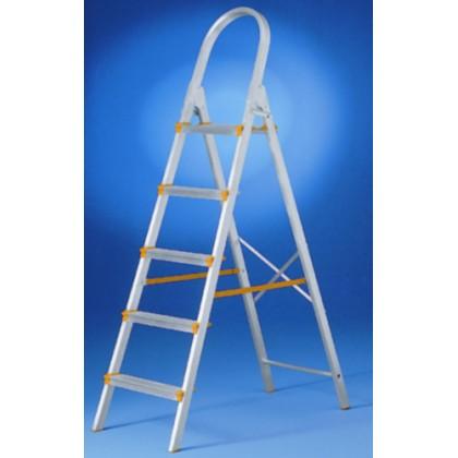 Escada de Alumínio Plasmatic 5 Degraus (Abrir)