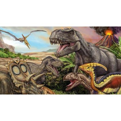 Quebra-Cabeça 100 Pçs Dinossauros-Grow