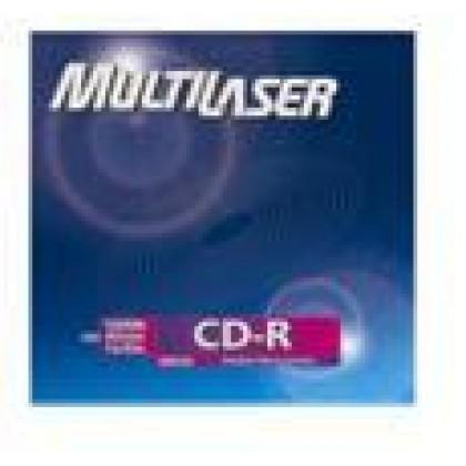 CD-R Gravável Envelope (80min/700Mb) 1x-52x Multilaser
