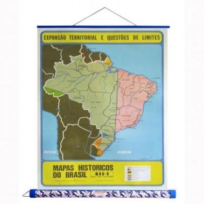 Mapa Laminado HB: Expansão Territorial e Questões de Limites - ECA