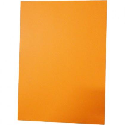 Papel Color Mais A4 120g Laranja c/50 Fls - Romitec