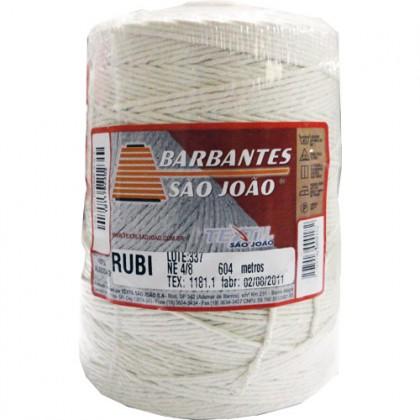 Barbante Rubi 4/8 Cru 604mts - São João