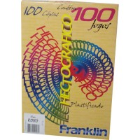 Papel Hectográfico Roxo 150 Cópias c/100 Jogos Franklin