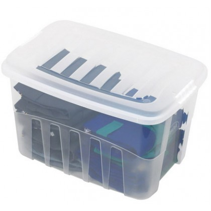 Caixa Organizadora Plástica Alta 29 Lts - Plasútil