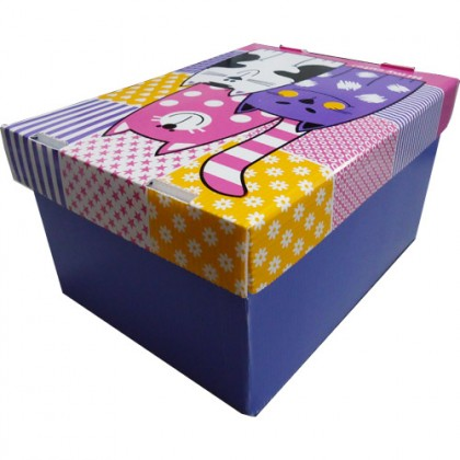Caixa Organizadora ProntoBox Hi My Cute 24x18x13cm-Polycart