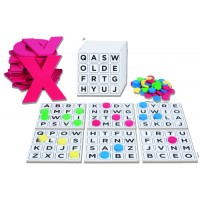 Bingo do Alfabeto em MDF e EVA c/556 Pçs-BM