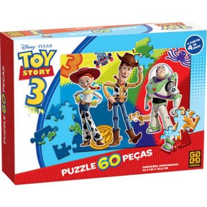 Quebra-Cabeça 60 Pçs Toy Story-Grow