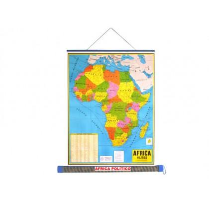 Mapa Laminado: África Político - ECA