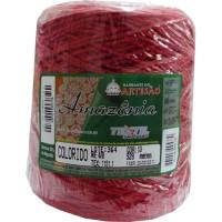 Barbante Amazônia 4/8 Vermelho 528mts - São João