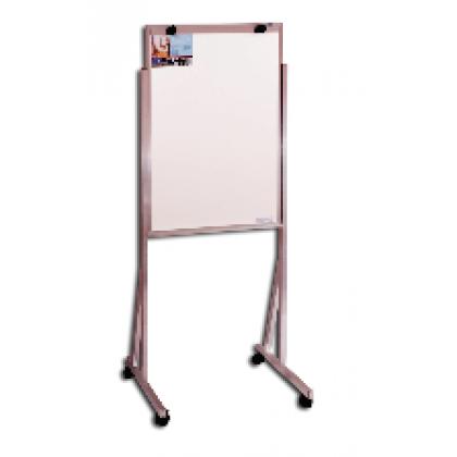 Flip Chart Branco 90x60cm Alum. c/Rodízio Cortiarte