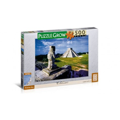 Quebra-Cabeça 500 Pçs Pirâmide Maia-Grow