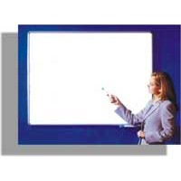 Quadro Branco Popular 150x120cm Mold.Alumínio Cortiarte