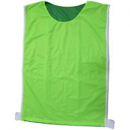 Colete de Treino Dupla-Face Verde Bandeira/Verde Claro c/5 Pçs-K.Sport