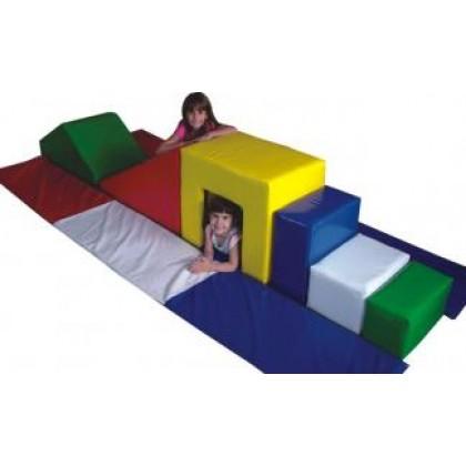 Super Play Baby Espumado 3,10x1,40x0,50m - F.Educação