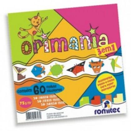 Orimania Dupla-Face 75g 3 em 1 c/60 Fls - Romitec