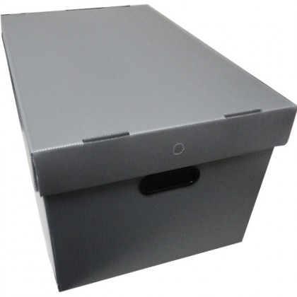 Caixa Organizadora ProntoBox Ls Pr 61,30 Lts - Polycart