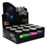 Pintando a Cara Color Make Fluor 12 Cores-Yur