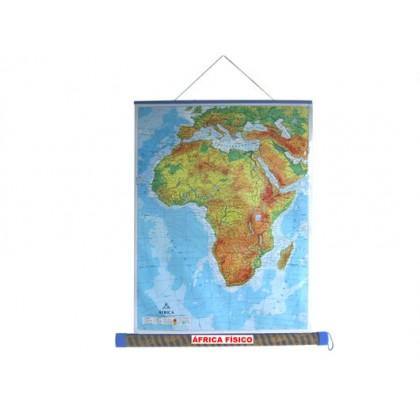 Mapa Laminado: África Físico - ECA