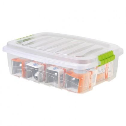 Caixa Organizadora Plástica Baixa 13,7 Lts - Plasútil