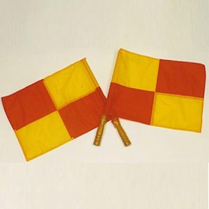 Bandeira para Árbitro de Futebol Standard c/2 - TM