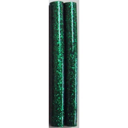 Bastão de Cola Silicone Grosso Verde c/Gliter 250g - Cis
