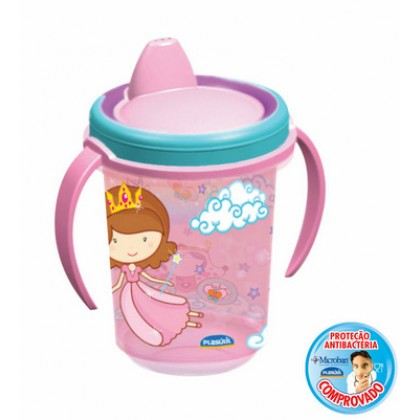 Caneca Infântil Ref.7088-Baby Princess 330ml - Plasútil