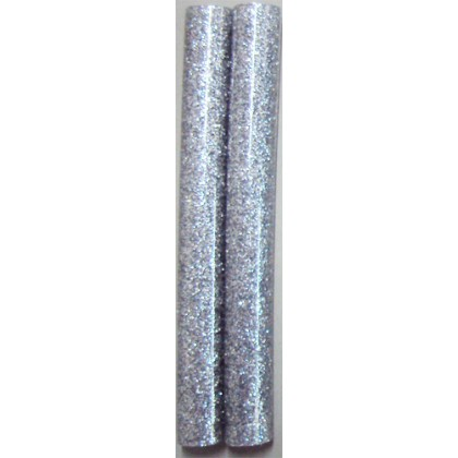 Bastão de Cola Silicone Grosso Prata c/Gliter 250g - Cis